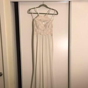 White Nordstrom Evening dress
